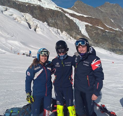 Gordon Skiers British Team Members