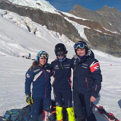 Gordon Skiers British Team Members