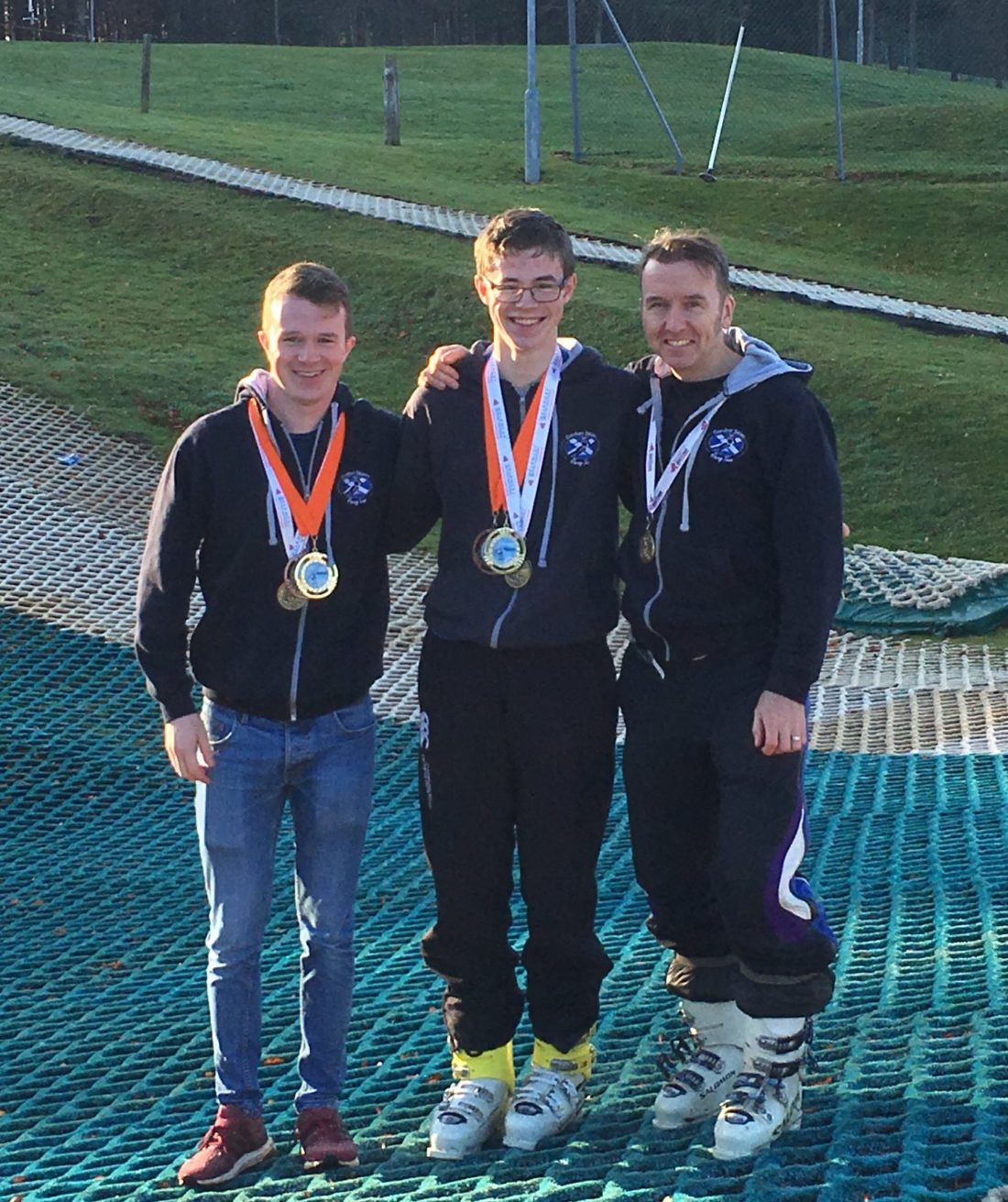 Gordon Skiers medal winners