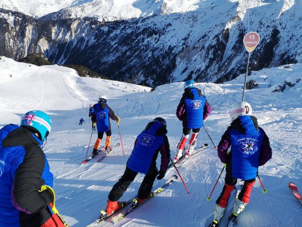Gordon Skiers Courchevel Race Camp 2018